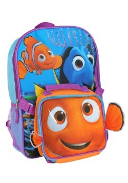 Finding Dory Backpack w Lunch Kit