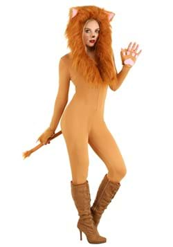 Women's Hooded Lion Costume update