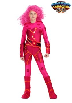 Girls Lavagirl Costume