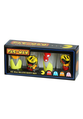 Pac Man Drinkware Set