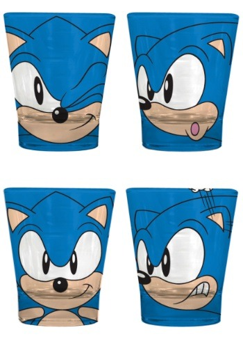 Sonic the Hedgehog Glassware Set