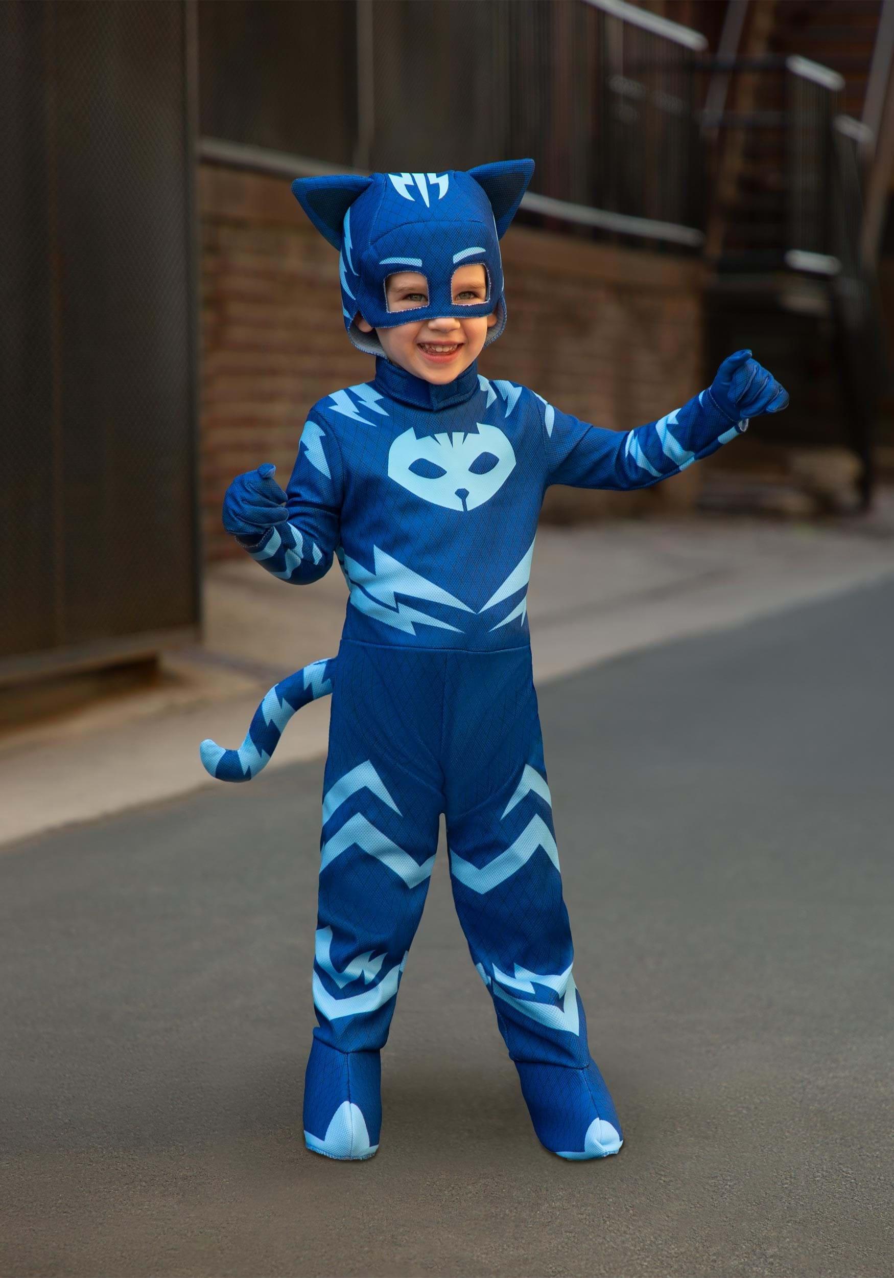 sc 1 st  Fun.com & Deluxe PJ Masks Cat Boy Costume