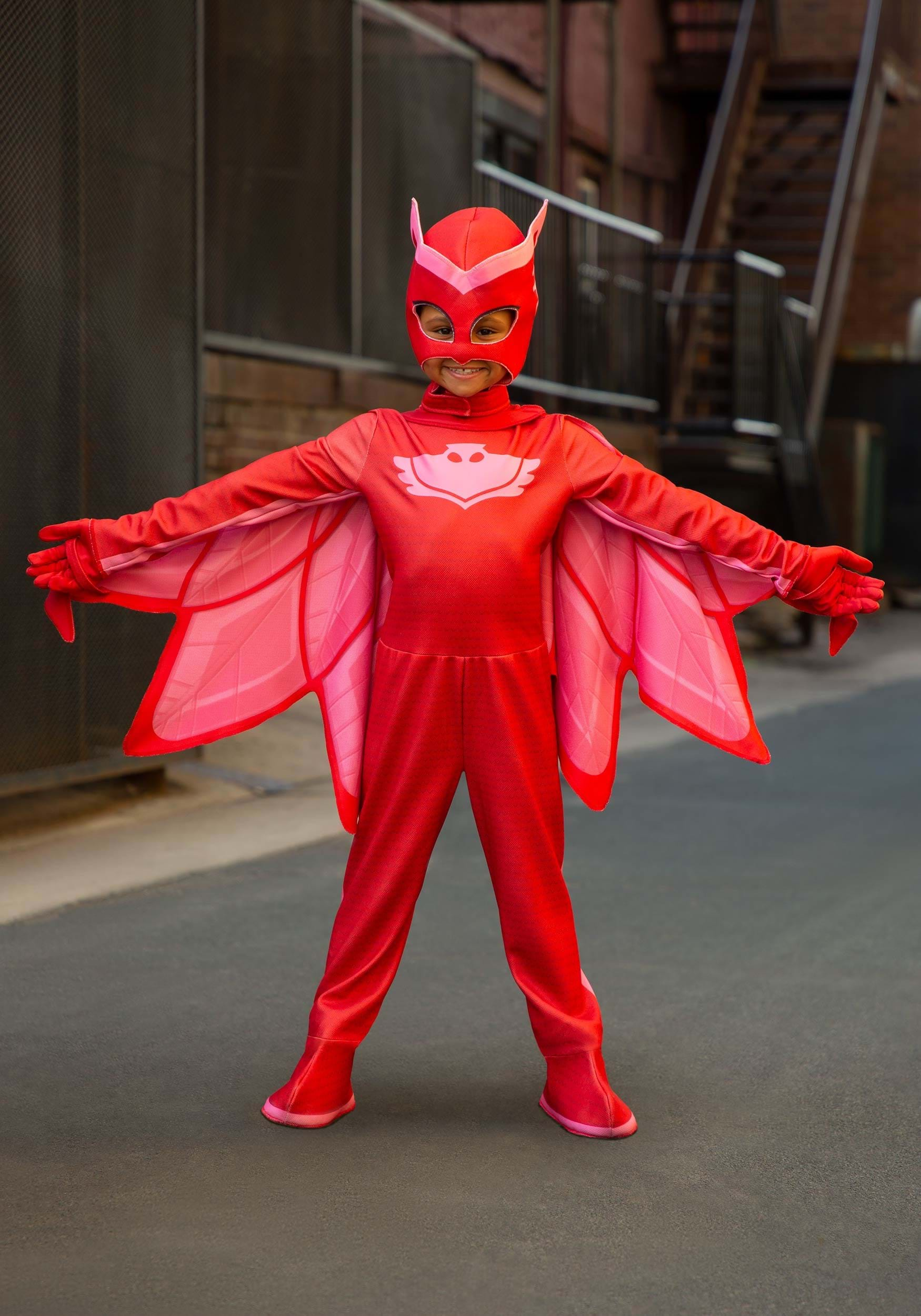 b0471c01 Kids Deluxe Owlette Costume from PJ Masks