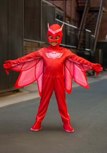 Kids Deluxe PJ Masks Owlette Costume update