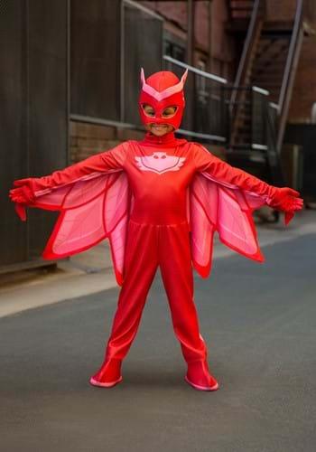 Kids Deluxe PJ Masks Owlette Costume updated