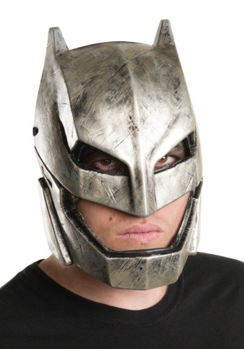 Adult Dawn of Justice Affordable Armored Batman Mask RU32547