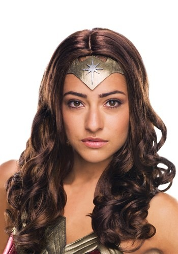Adult DC Dawn of Justice Deluxe Wonder Woman Wig