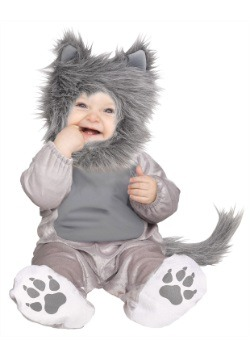 Infant Lil Wolf Cub Costume