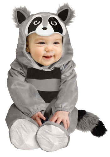 Raccoon Costume For Babies