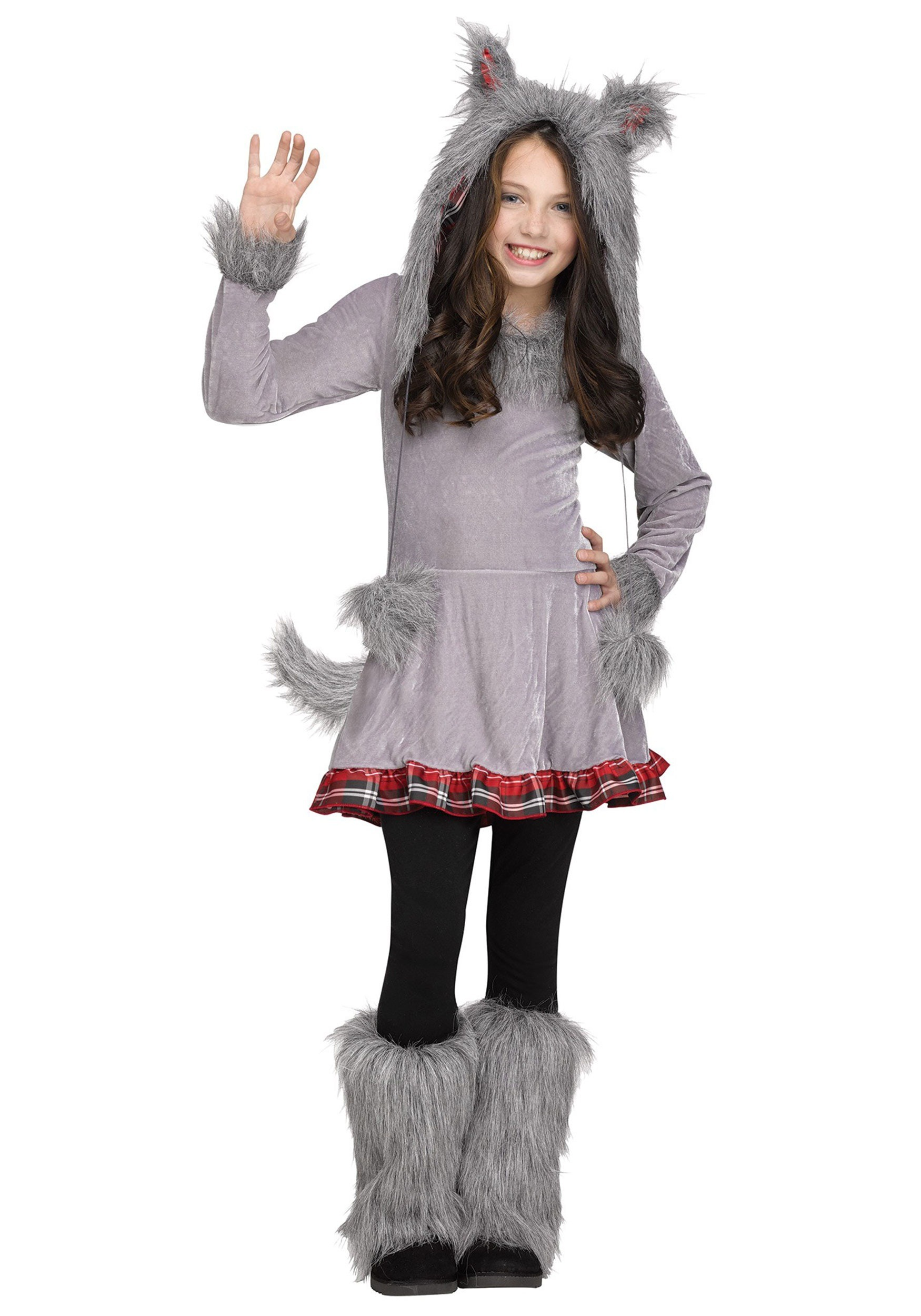 wolf cub costume for girls