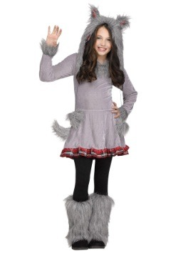 Girls Wolf Cub Costume