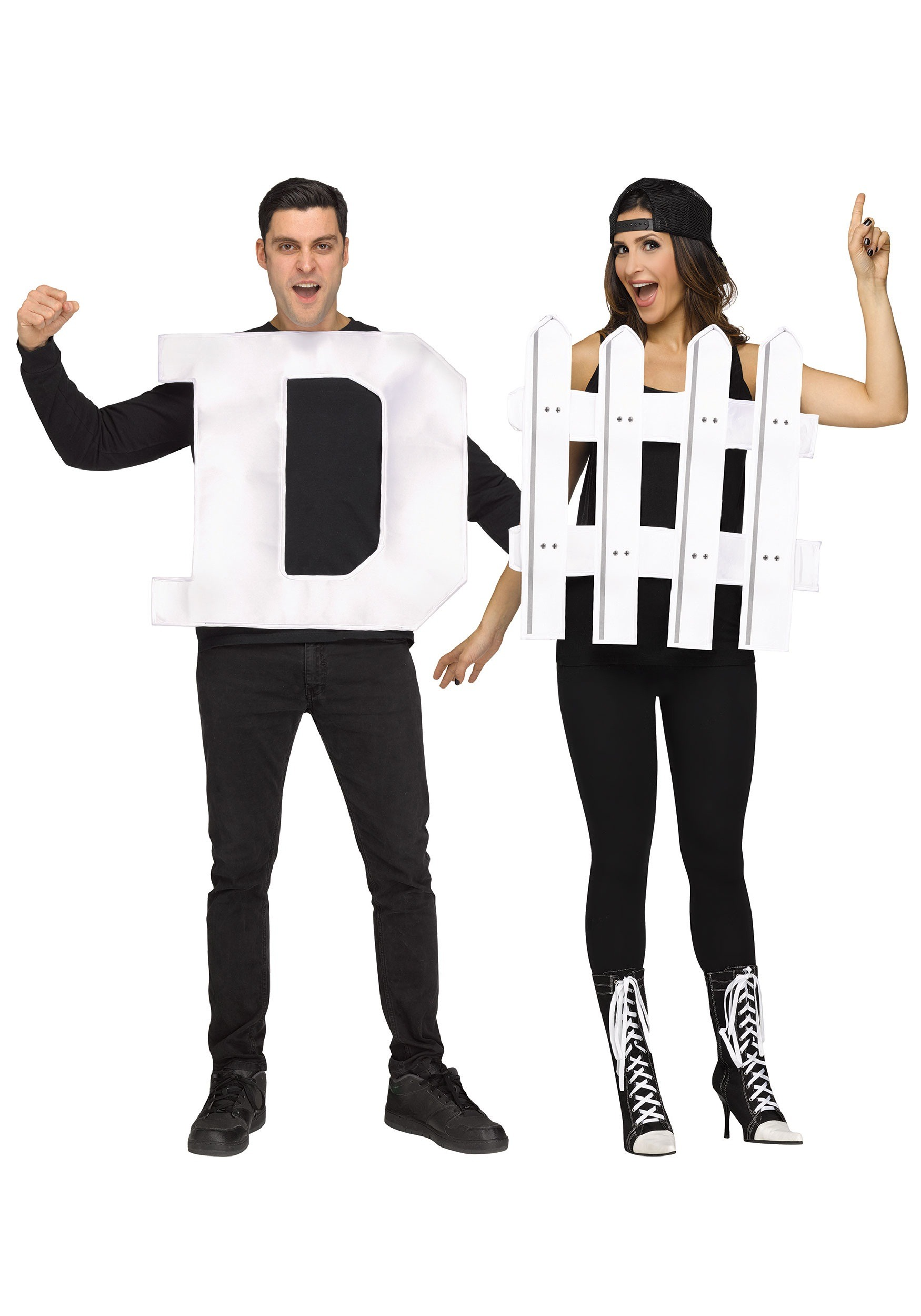 Adult D Fence Costume