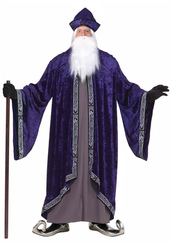 Plus Size Royal Wizard Costume for Men