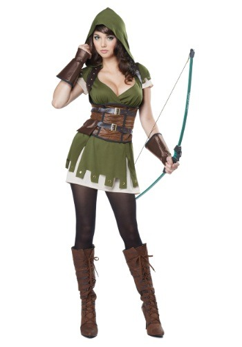 Miss Robin Hood Womens Costume
