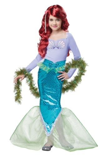 Magical Mermaid Costume For Child