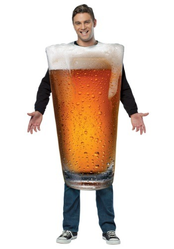 Pint Of Beer Costume For Adults