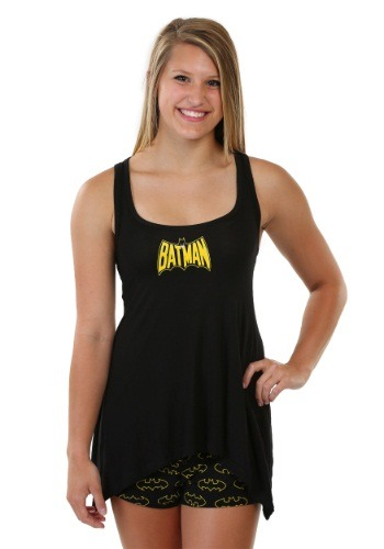 Batman Handerkerchief Tank & Shorts Set