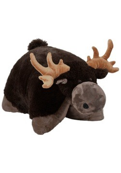 Chocolate Moose Pillow Pet