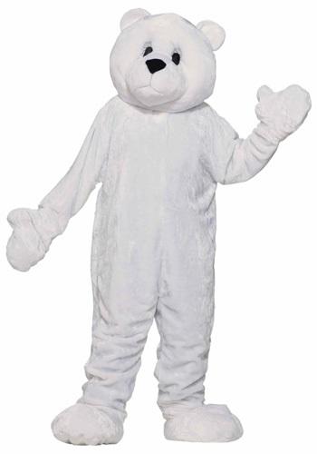 Mascot Polar Bear Adult Costume