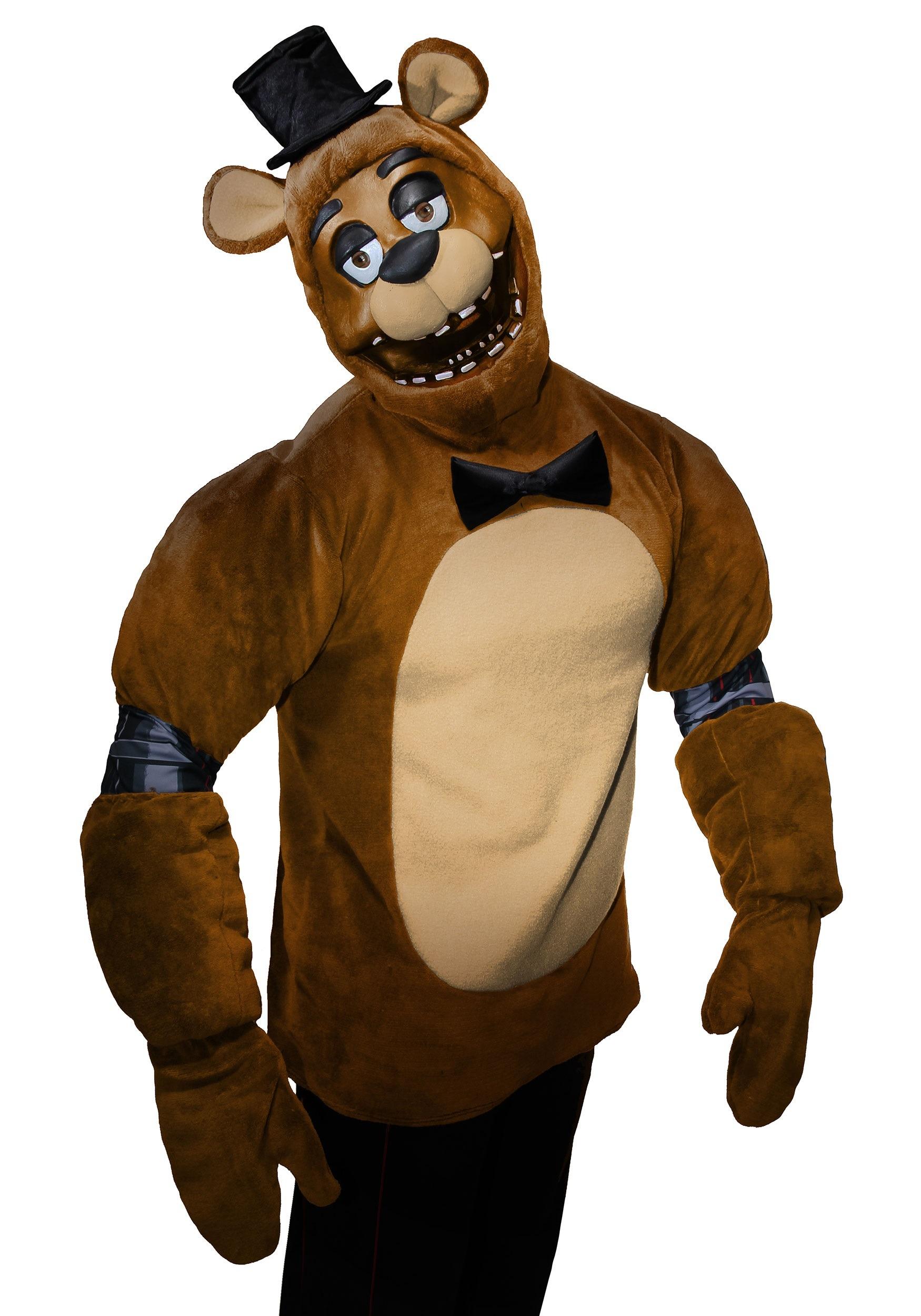 Freddy FNAF Five Nights Game Inspired Adults Kids Hoodie