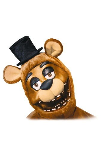 FNAF Freddy Adult Hood/Mask RU33436-ST