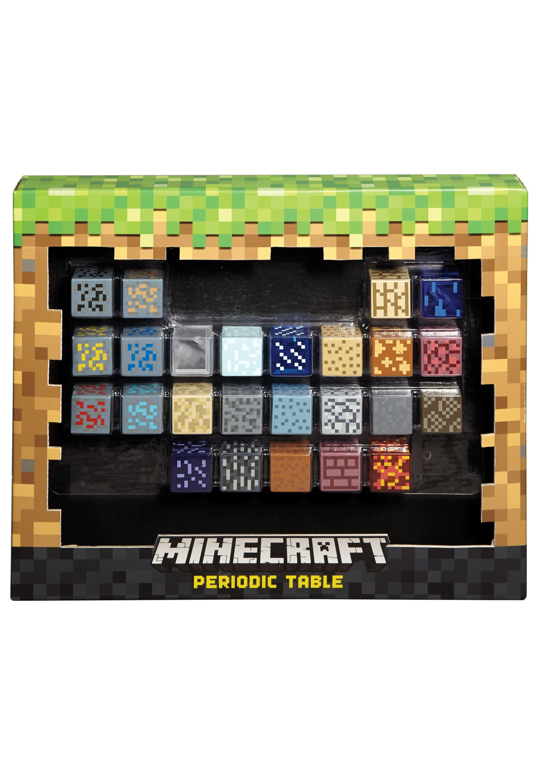 Minecraft Periodic Table Toy MLDJY39