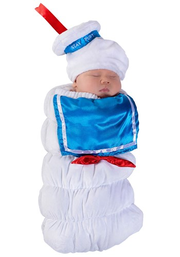Ghostbusters Infant Stay Puft Bunting Costume