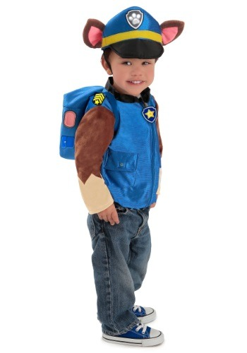 Deluxe Paw Patrol Chase Boys Costume