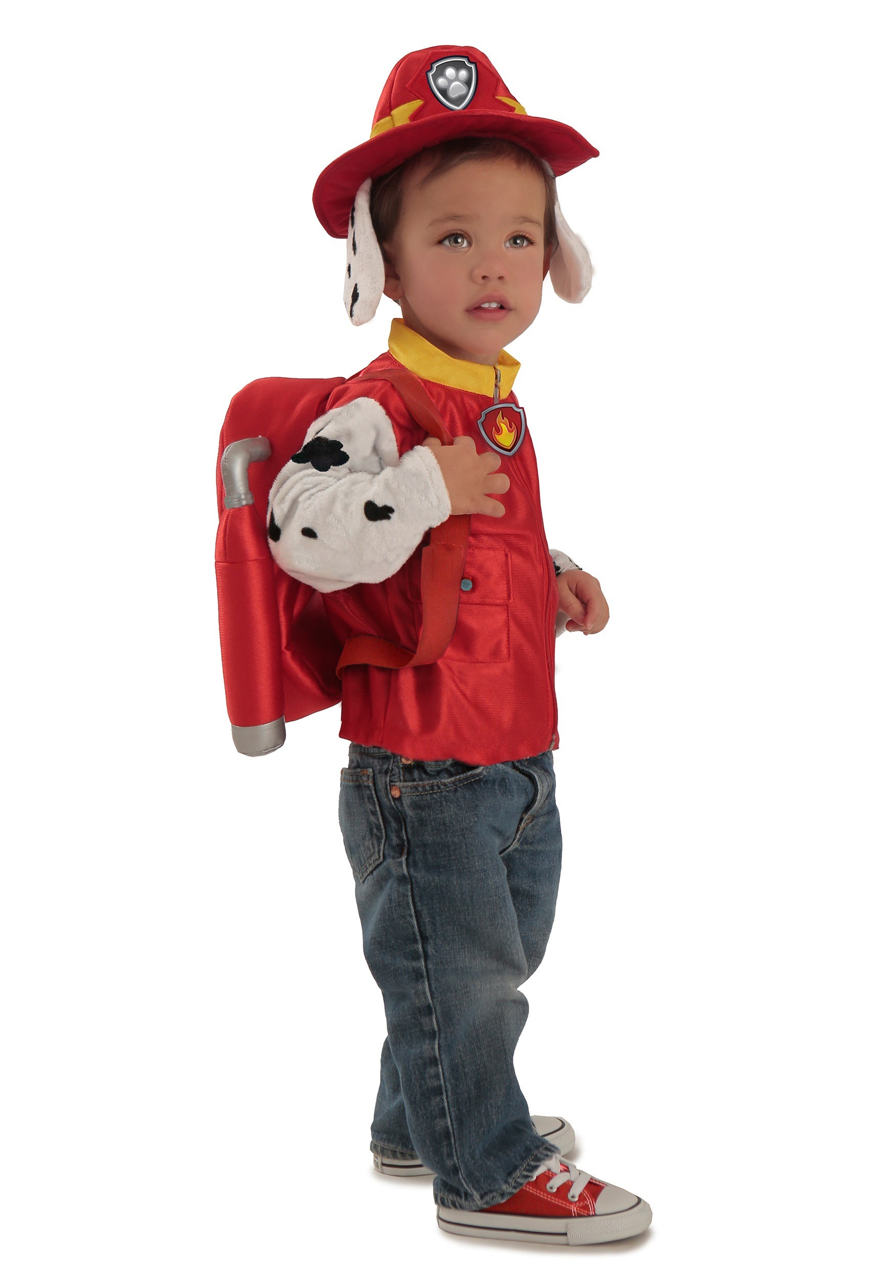 Deluxe Paw Patrol Marshall Costume For Boys