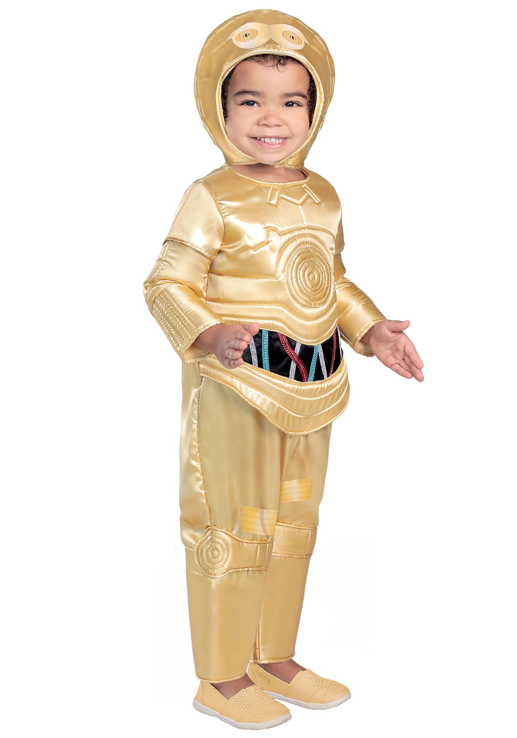 Deluxe C-3PO Toddler Costume  sc 1 st  Fun.com & Deluxe C-3PO Costume for Toddlers