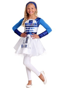 Girls R2D2 Star Wars Dress Update Main
