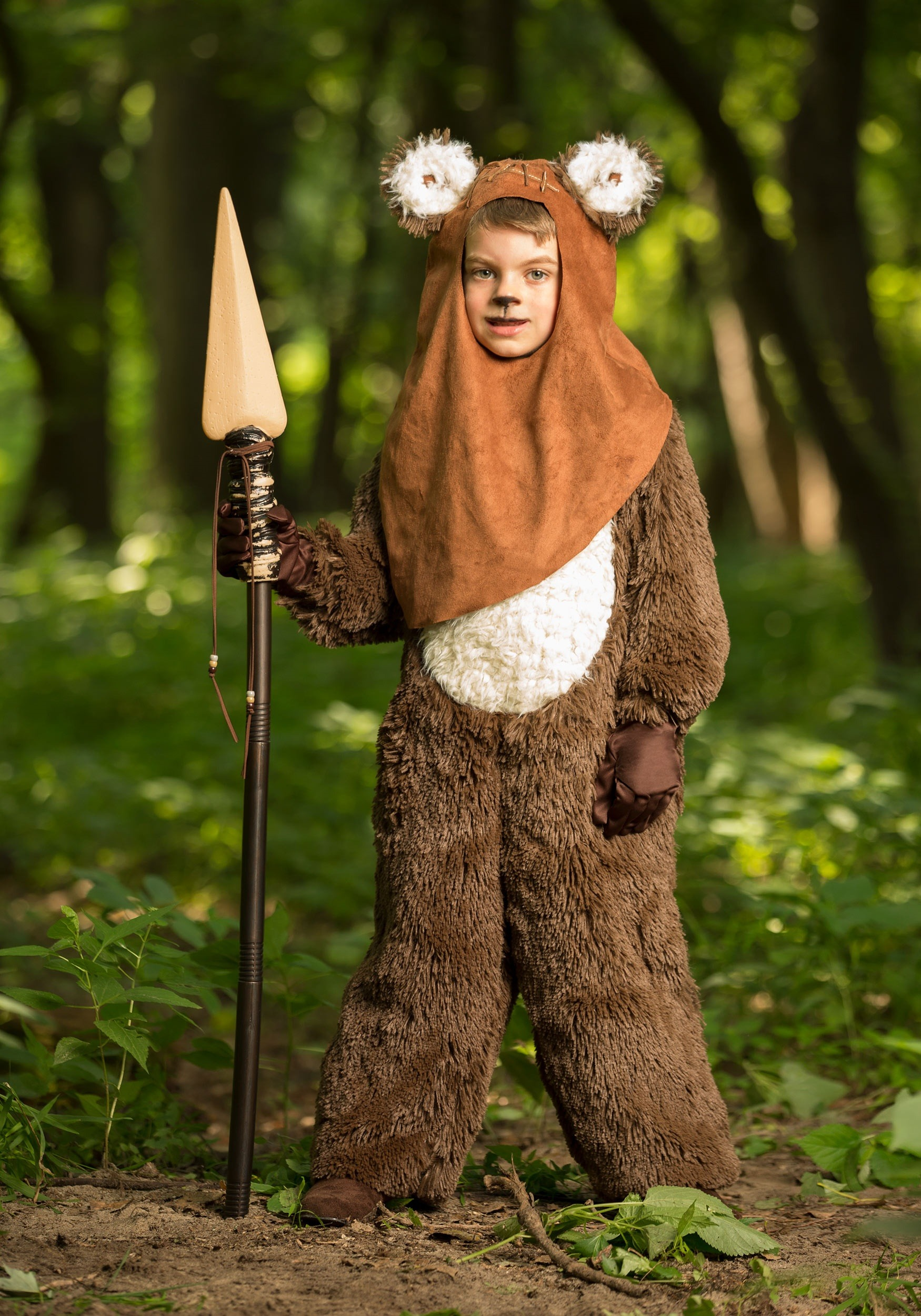 deluxe wicket ewok costume for kids. Black Bedroom Furniture Sets. Home Design Ideas