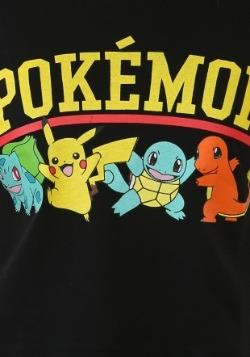 Pokemon Starter Group Juniors Ringer Tee1