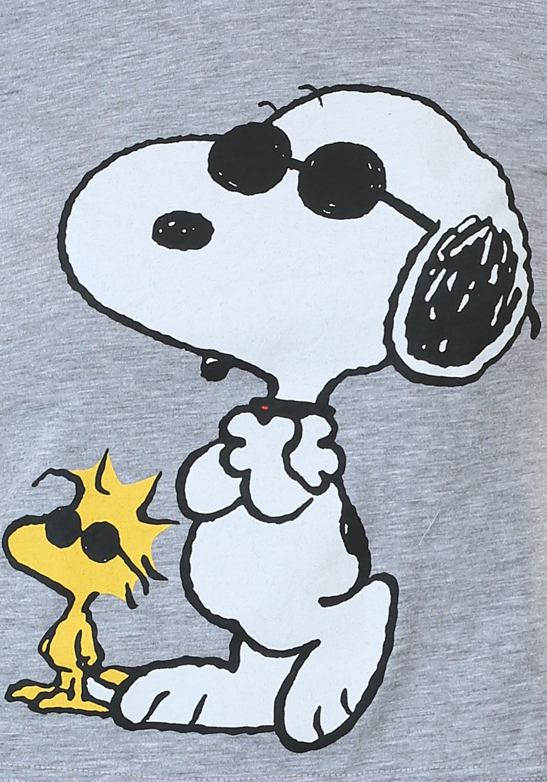 Peanuts Joe Cool Juniors Ringer Tee