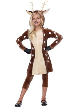 Girls Deer Fawn Costume