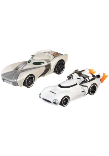 Star Wars Character Car Rey & Flametrooper 2 Pack