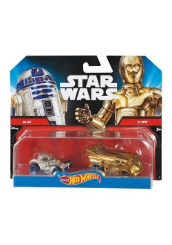 Star Wars Character Car C-3PO and R2D2 2 Pack