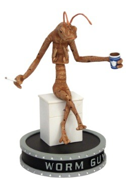 Men in Black Worm Guy Shakems Premium Motion Statue