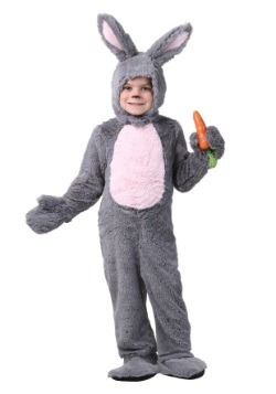 Grey Bunny Costume For Toddlers