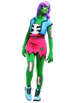 Womens Pop Art Zombie