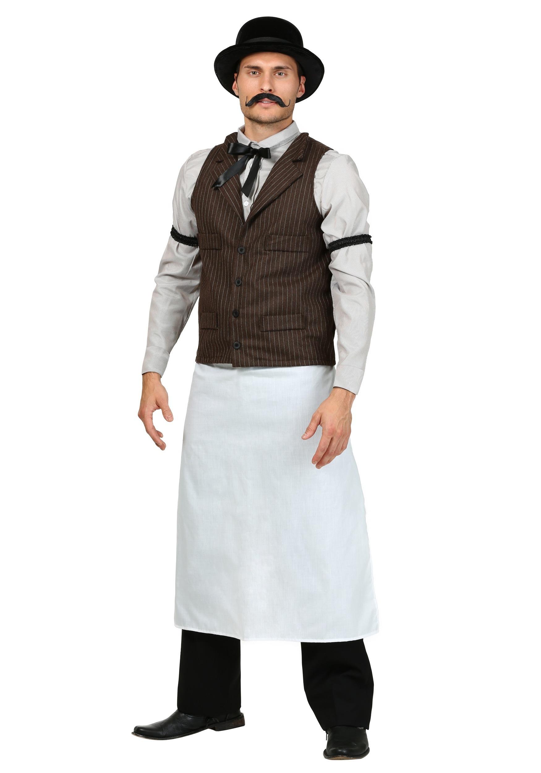 Old West Bartender Costume