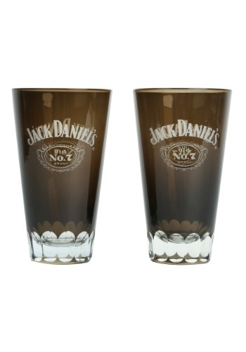 Jack Daniel's Tumbler Glass 2 Pack