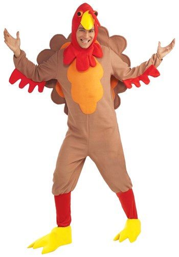 Fleece Turkey Adult Costume
