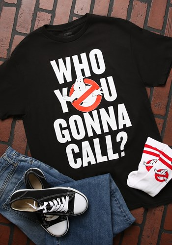 Ghostbusters Who To Call T-Shirt