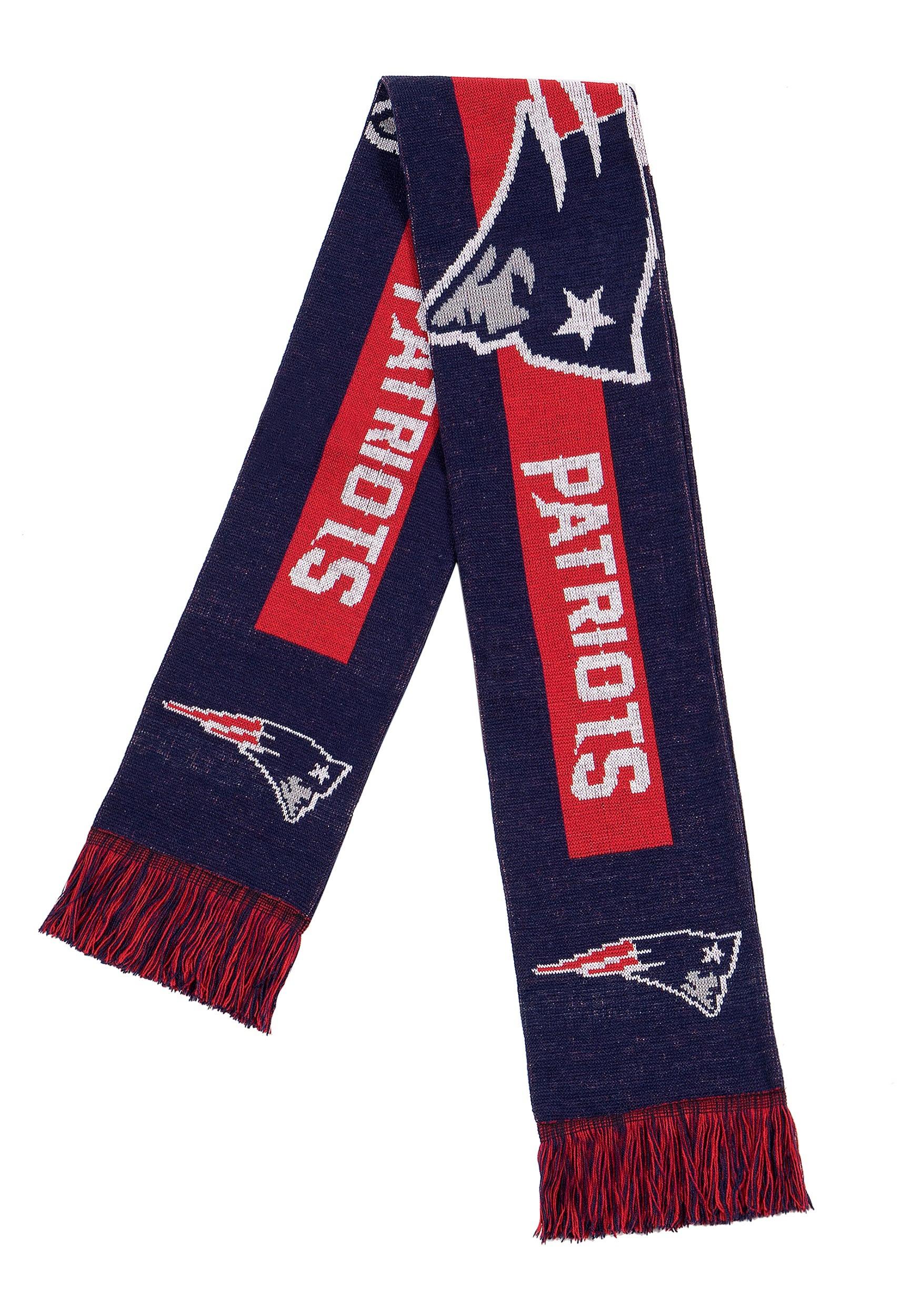 New England Patriots Big Logo Scarf FLSVNF16BLGNP