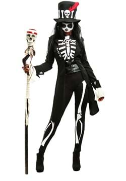 Women's Voodoo Skeleton Costume update1