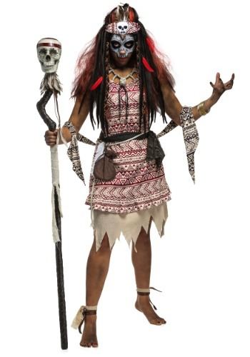 Women's Voodoo Witch Costume