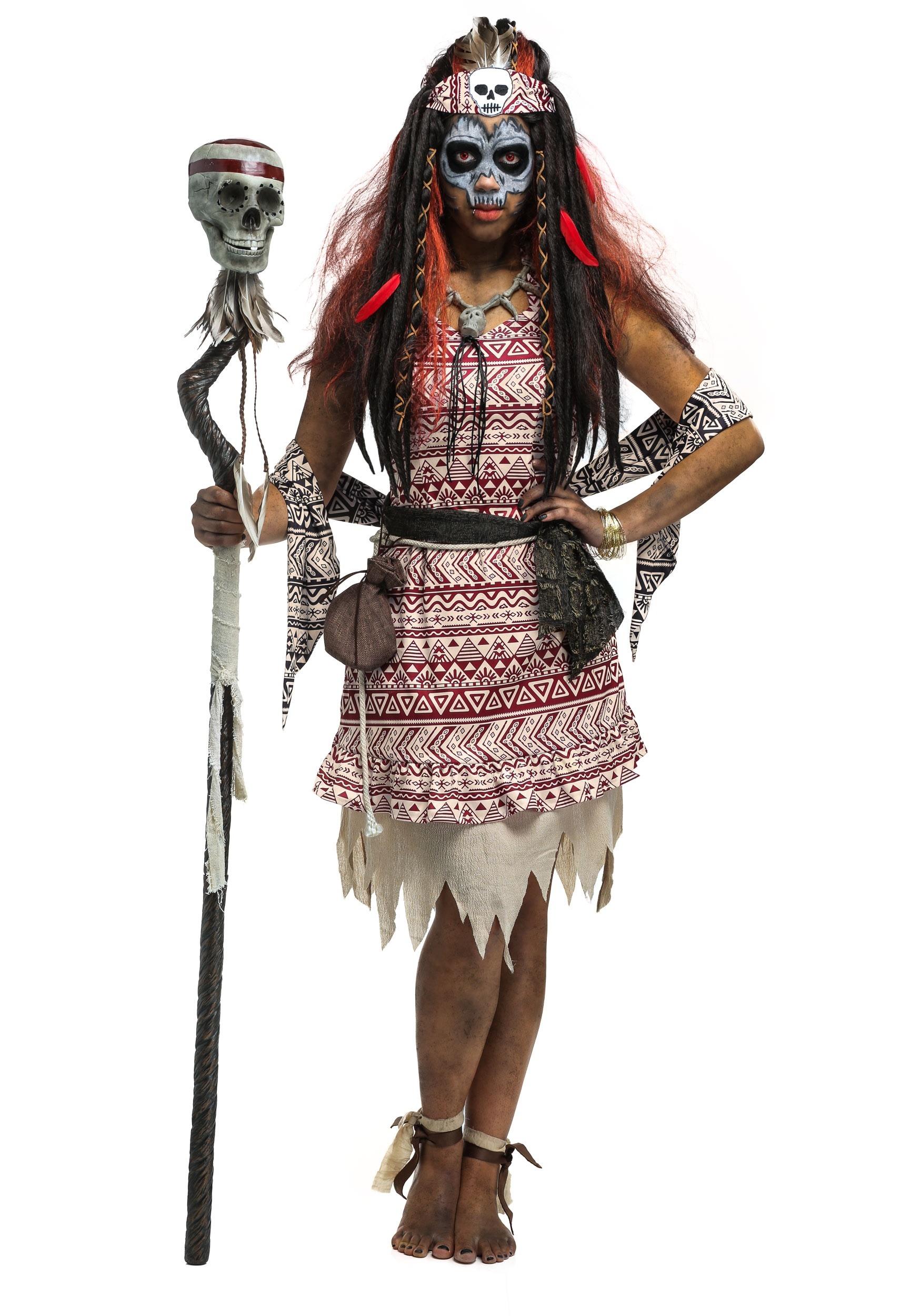 Womenu0027s Voodoo Witch Costume Womenu0027s Voodoo Witch Costume Alt2  sc 1 st  Fun.com & Womens Voodoo Witch Costume