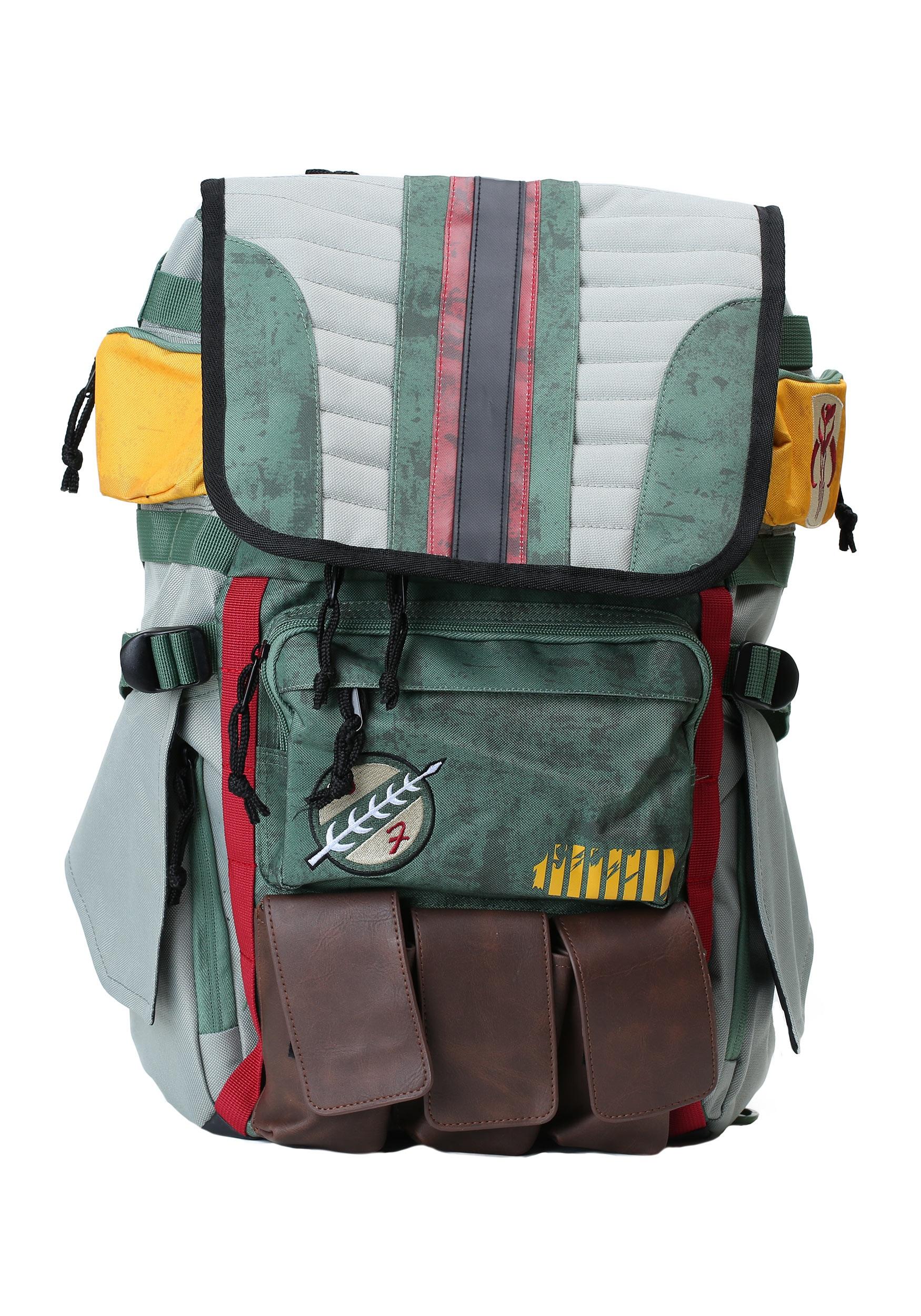 Star Wars Boba Fett Laptop Backpack