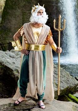 Mens Poseidon Plus Size Costume